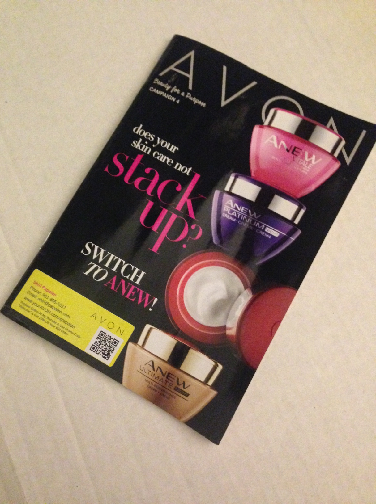 What Do I Do With My Avon Brochures? - Shirl's Glitz & Glam