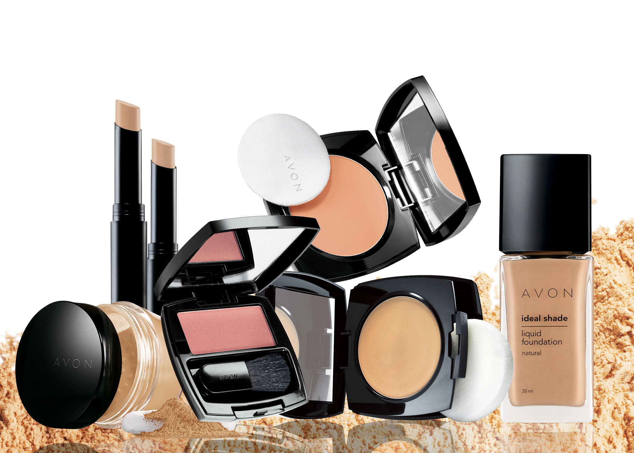 What type of products are in the Avon catalog?