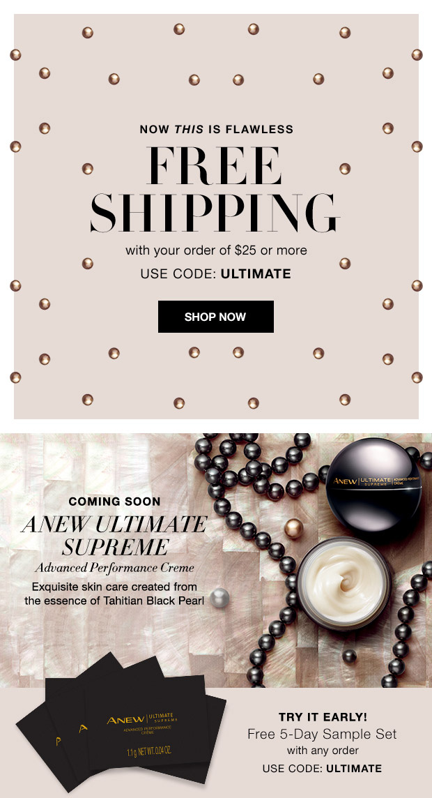 Avon Free Shipping and Free Samples - Shirl's Glitz & Glam